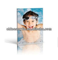 2013 new fashionable design clear acrylic nude children funny photo frame in high quality