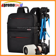 Wholesale backpack waterproof padded camera bag