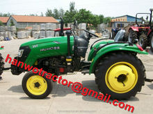 John Deere color tractor with 4WD, (20-40HP)