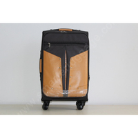 China Manufacturer PU Cover Fabric Travel Luggage Bag