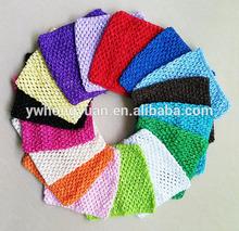 tubo crochet superior tutú superior, de punto de ganchillo tapa del tubo para Tutus y Petti Faldas