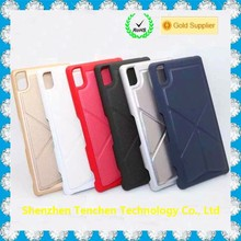 Foldable Magnetic back Case Cover Stand for iphone for samsung for sony