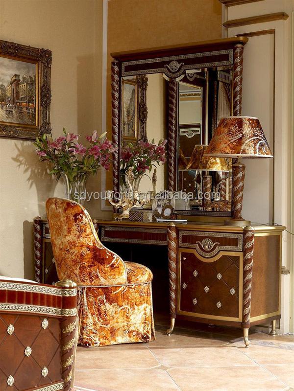0026 luxury real juego de dormitorio de madera tallada juego de ...