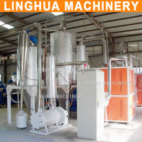 applied good performance pet flakes crystallizer machine