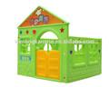 Casa de juego de plástico niños tipo para kindergarten parque infantil