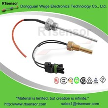 2015 Popular Various Screw-in Probe High Tempearture HVACR Water Temperature Sensor , RTD PT100 PT500 PT1000 Inside Available