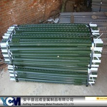 Wholesale 10 years service life galvanized /painted T post farm used fence metal T post