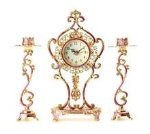 Modern Metal Antique Desk Clock, Cheap Desk Clock, Novelty Desk Clock
