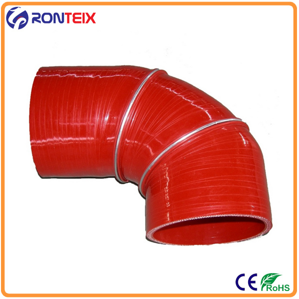 hump elbow silicone hose 2 steel ring