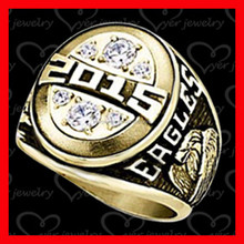 2015 silver Class rings