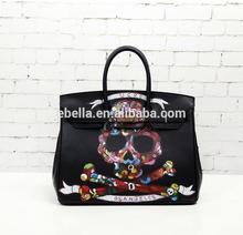 wholesale and retail handbag handbag leather famous designer handbag with good manufacturer tote shopping bag