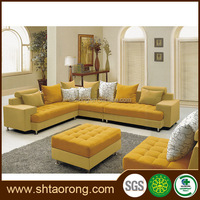 new model chinese supplier living room fabric sofas TRSO-859