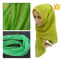 """polyester spun voile grey scarf fabric NE 80s\*80s 80*56 42""""100s muslim scarf voile fabric"""