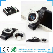 Pro Quality Universal Clip 0.67X wide angle+ macro lens for iphone6/iPhone5s/iPhone5/iPhone4s/iPhone4