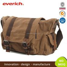 Popular high quality cotton canvas fashion handbag & Messenger Bag for Men