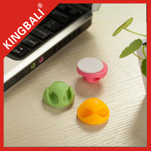 King Bali Silicone/TPR good Cable clip/3M cable drop/Electronic cable pen