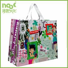 Recycle non woven material reusbale non woven bag cartoon tote bag