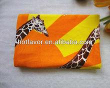 Hot Sale! Promotion colorful cotton beach towel