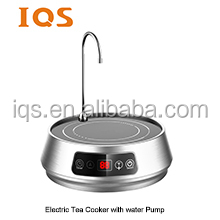 stainless Steel housing electric tea maker with water pump