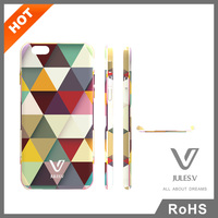 Jules.V PC/TPU Light Weight Plastic Paint Leather Case For Phone Cover For iPhone 6/6 Plus