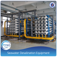 100T/H Reverse Osmosis Seawater Desalination Plant on Land