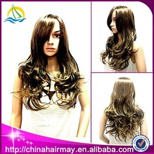 Beauty Noble Synthetic Wholesale Cheap Brazilian Wet and Wavy Hair
