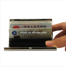 Stainless Steel Business Name Card Case Holder