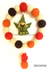 Decorative Christmas Garland And Wreath