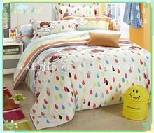 Huzhou textile bedsheets printing Cartoon girl
