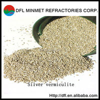 asbestos free golden yellow/silver white 0.3-1mm1-2mm2-4mm crude vermiculite