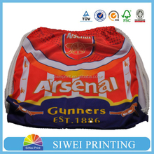 2015 new wholesale acrytic football sackpack bag for footbal club fans
