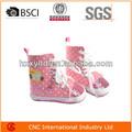 linda chica colección de invierno de pequeño tamaño zapatos de bebé bebé botines shoe2014