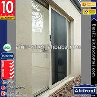 Double Track Aluminium Sliding Door With High Quality