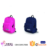 China alibaba hot selling outdoor cotton canvas backpack school bag for promotion