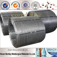 China First-class Ca/C/CaSi/TiFe cored Wire