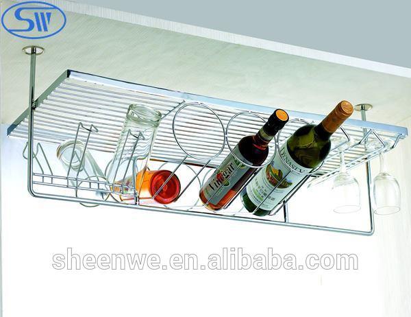 горячей! висит многофункциональный стеллаж для хранения вина/подстаканник