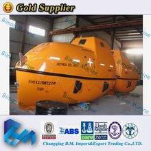China Marine SOLAS Standard FRP Used Lifeboat For Ship