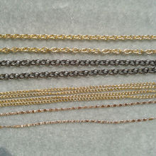 Wholesale colored plated jewelry chain factory direct price