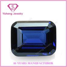 Octagonal Emerald Cut Fancy Nano Crystal Zircon Stone Tanzanite Piedra Preciosa
