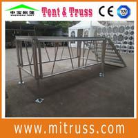 removable stage, aluminum stage platform, portable stage rental