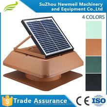 Newmeil SuperAir-R/S solar panel adjustable attic ventilation fan for industry
