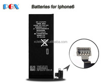 4.2v battery 1200mah for iphone 3.7v li-polymer battery, battery for iphone replacement