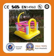 Venta caliente inflable hinchable mini castillo hinchable/gorila mini