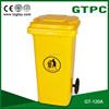 120L wheeled Eco-Friendly Feature and Outdoor Usage plastic recycle bin