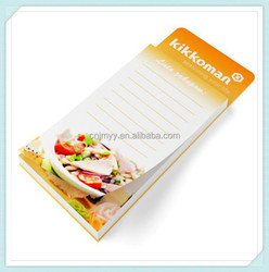 Wholesale magnetic notepad/ refrigerator magnet with notepad /magnet notepad