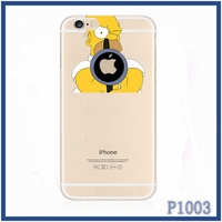 2015 Top selling factory price carton series high quality TPU cell phone case