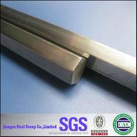 ASTM stainless steel hexagonal bars, 301 302 304 304L 316 316Lhexagonal steel round bar