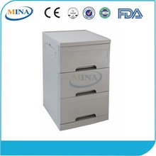 MINA-BS04 popular with 3 drawers hospital instrument medical tables