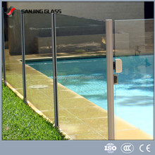 Swimming pool glass panels/tempered glass pool fencing