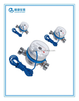Dn15mm Dry type of single jet water meter pulse output